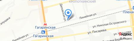 П.Ш. на карте Новосибирска