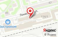 Схема проезда до компании Акула в Новосибирске
