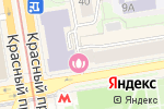 Схема проезда до компании NABS в Новосибирске