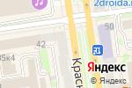 Схема проезда до компании Mr.Cup coffee & bakery в Новосибирске