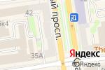 Схема проезда до компании Альянс сумок в Новосибирске