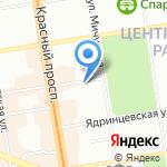 Новосибхлеб на карте Новосибирска