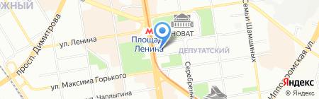 Департамент по социальной политике Мэрии г. Новосибирска на карте Новосибирска