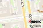 Схема проезда до компании Шанхай в Новосибирске