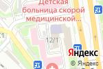 Схема проезда до компании Сибирская Академия Туризма, АНОО в Новосибирске