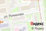 Схема проезда до компании Время в Новосибирске