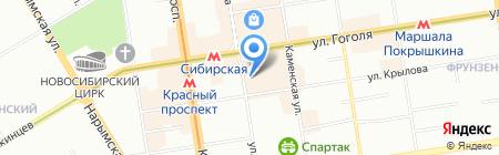 БизнесПроект на карте Новосибирска