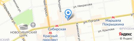 Incanto на карте Новосибирска