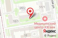 Схема проезда до компании Редакционно-Издательский Дом «Современная Пресса» в Новосибирске