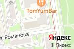 Схема проезда до компании Альфа-Транс-Групп в Новосибирске
