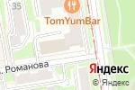 Схема проезда до компании STORY в Новосибирске