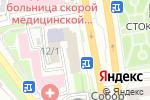 Схема проезда до компании Индор в Новосибирске