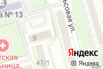Схема проезда до компании Абсолютная Печать в Новосибирске