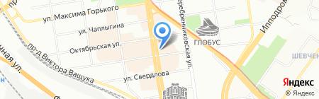Ламанш на карте Новосибирска