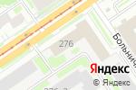 Схема проезда до компании Восток в Новосибирске