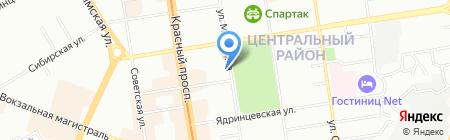 Авантаж-Студия на карте Новосибирска