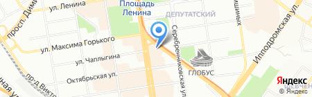 Кофе Хауз на карте Новосибирска