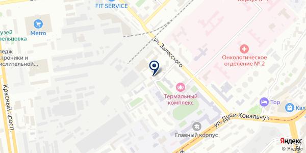 Шедевр на карте Новосибирске