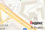 Схема проезда до компании Художник в Новосибирске