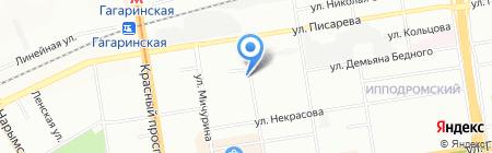 Промстройкабель на карте Новосибирска