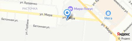 КонВент на карте Новосибирска