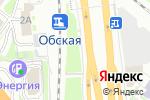 Схема проезда до компании Big Burger в Новосибирске