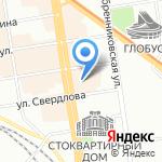 Логис на карте Новосибирска