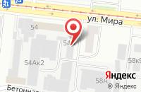 Схема проезда до компании Промкомплект в Новосибирске