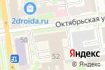 Схема проезда до компании Газпромнефть-Корпоративные продажи в Новосибирске