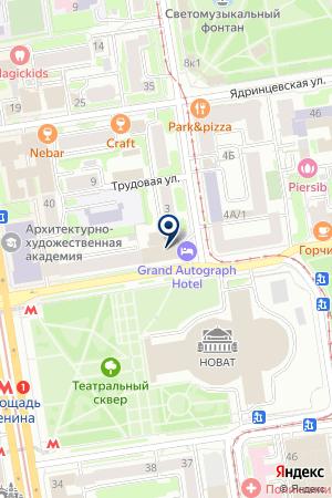 МУП ПРОЕКТНО-ТЕХНОЛОГИЧЕСКОЕ БЮРО ТРАНСПОРТА на карте Новосибирска
