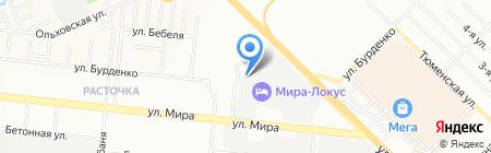 Русполимер на карте Новосибирска