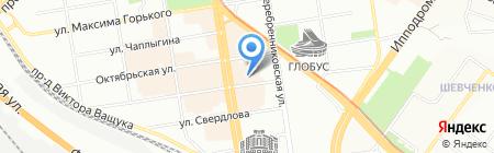 Жуланка на карте Новосибирска