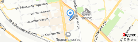 Квадратура.ру на карте Новосибирска