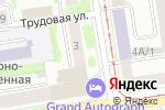 Схема проезда до компании ГРАФ, ЗАО в Новосибирске