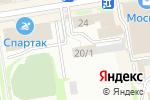 Схема проезда до компании Недорогой в Новосибирске