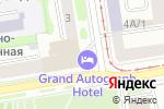 Схема проезда до компании Novosibirsk Marriott Hotel в Новосибирске