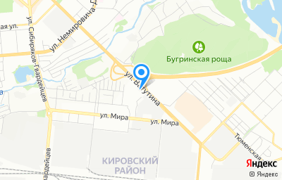 Местоположение на карте пункта техосмотра по адресу г Новосибирск, ул Ватутина, д 38А