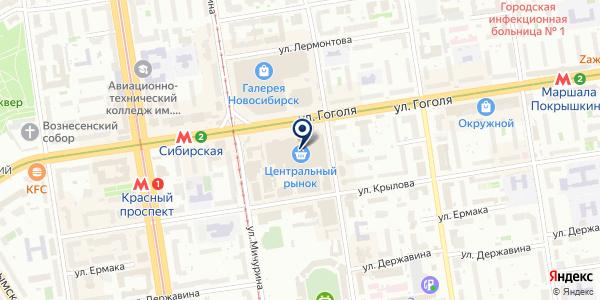 Фотомастер на карте Новосибирске