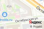 Схема проезда до компании Новосибирский Центр Недвижимости в Новосибирске