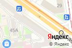 Схема проезда до компании Не горюй в Новосибирске