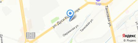 Юникум на карте Новосибирска