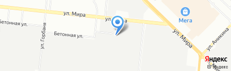 СибИнжиниринг на карте Новосибирска