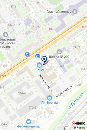 ТАКСИ ЭКАЖЪ на карте Новосибирска