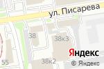 Схема проезда до компании Альфа-Стекло в Новосибирске