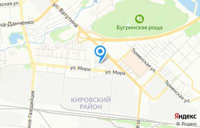 Местоположение на карте пункта техосмотра по адресу г Новосибирск, ул Мира, д 63А/8