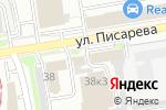 Схема проезда до компании ФЛАГМАН в Новосибирске