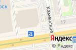 Схема проезда до компании Baggins в Новосибирске