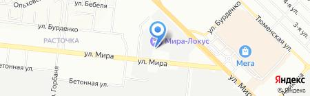 Авторейд на карте Новосибирска