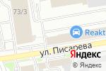Схема проезда до компании Феда в Новосибирске