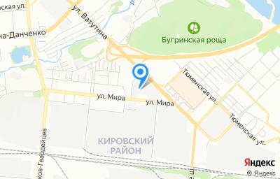 Местоположение на карте пункта техосмотра по адресу г Новосибирск, ул Мира, д 63А/7